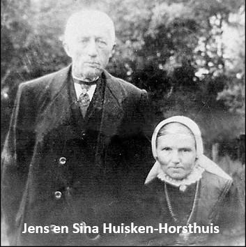 Jens en Sina Huisken-Horsthuis op ool-Bossink in Lattrop