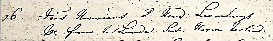 Joannes  Henricus  Leemhuijs ND RC doopboek van de H Nicolaas in Denekamp