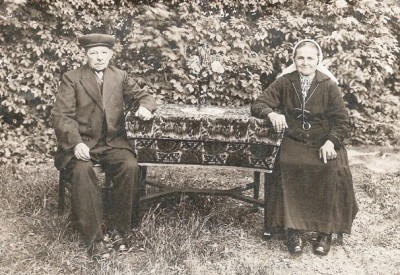 Joannes Roelofs (1862-1941) en Aleida Wyferink (1874-1944) op Roolsboer in Lattrop