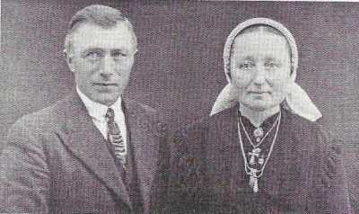 Joannes Bernardus Laarhuis en Johanna Zwiep op Ahuis ND