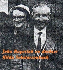 Johan (John) Beyerink en Hilda Schwarzenbach-Beyerink USA