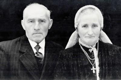 Johan ten Dam 1885-1970 en Suzanna Maria Arens 1889-1969 Volthe