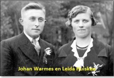 Johan Warmes en Leida Huisken Lattrop