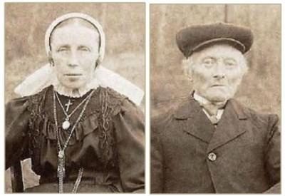 Johan Bernard Muntel (1846-1921) en Johanna Tijscholte (1865-1946)