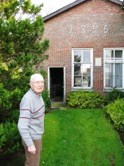 Johan Laarhuis op Ahuis ND 29-03-2014 (96jaar)