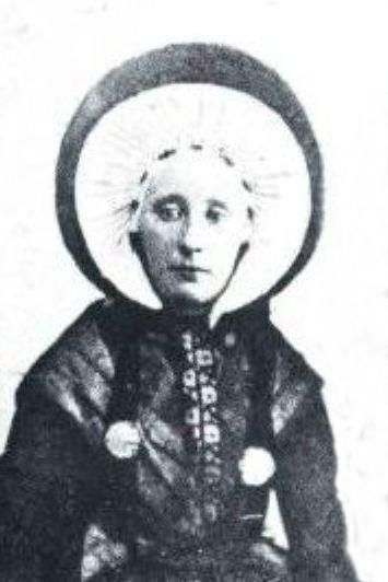 Johanna Boers 1853-1900 x Jan Maatman Breklenkamp (Foto ca. 1880)