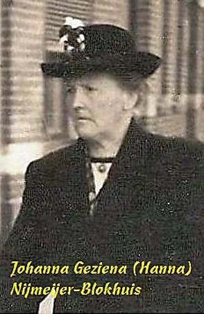 Johanna Geziena (Hanna) Nijmeijer-Blokhuis
