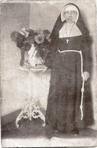 Johanna Scholten ( Zr Raineldis) Tilligte 1888 Amersfoort 1959