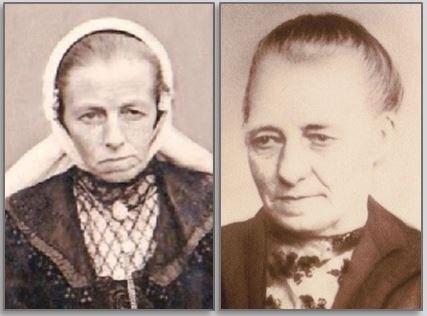 Johanna hendrika Kienhuis-Weenders en Maria Suzanna Rikkink-Weenders