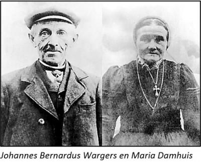 Johannes Bernardus Wargers en Maria Damhuis op Vischers-Bets in Beuningen