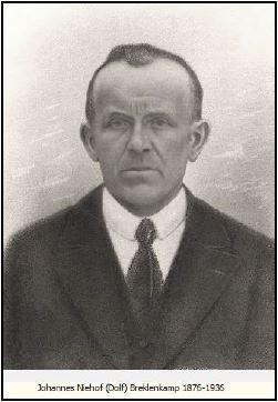 Johannes Niehof (Dolf) Breklenkamp 1876-1936