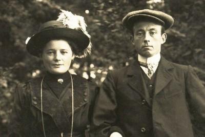 Johannes Hermannus(Herman) Kloeze en Maria Johanna Kienhuis Tilligte