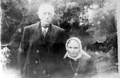 Johannes Huisken en Gezina Horsthuis op ool Bossink Lattrop