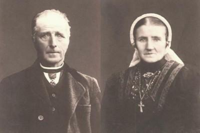 Johannes ten Oever en Maria Nijhof Oud ootmarsum