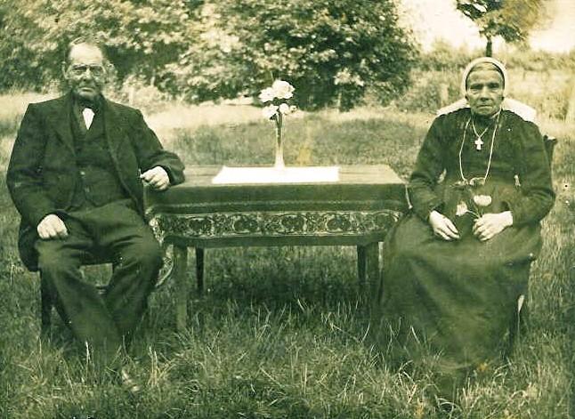 Johannes Wigger en Gezina Keukeler (Wiggerskuper) Lattrop