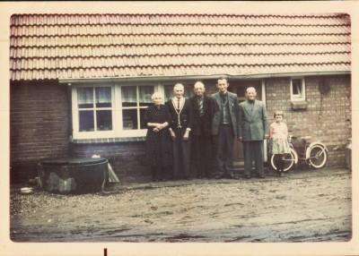 John of Johan Beijerink bij Herman Beijerink in Albergen mei 1963