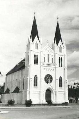 Kerk in Blimbing in Indonesië
