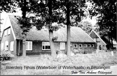 Keuters op Tijhuis of Waternaats in Beuningen-Oost