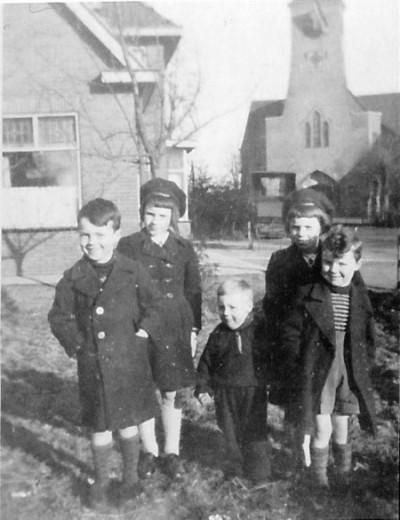 Kinderen Polhuis in Lattrop 25-01-1947
