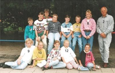 Klassenfoto Lattrop 1992-1993
