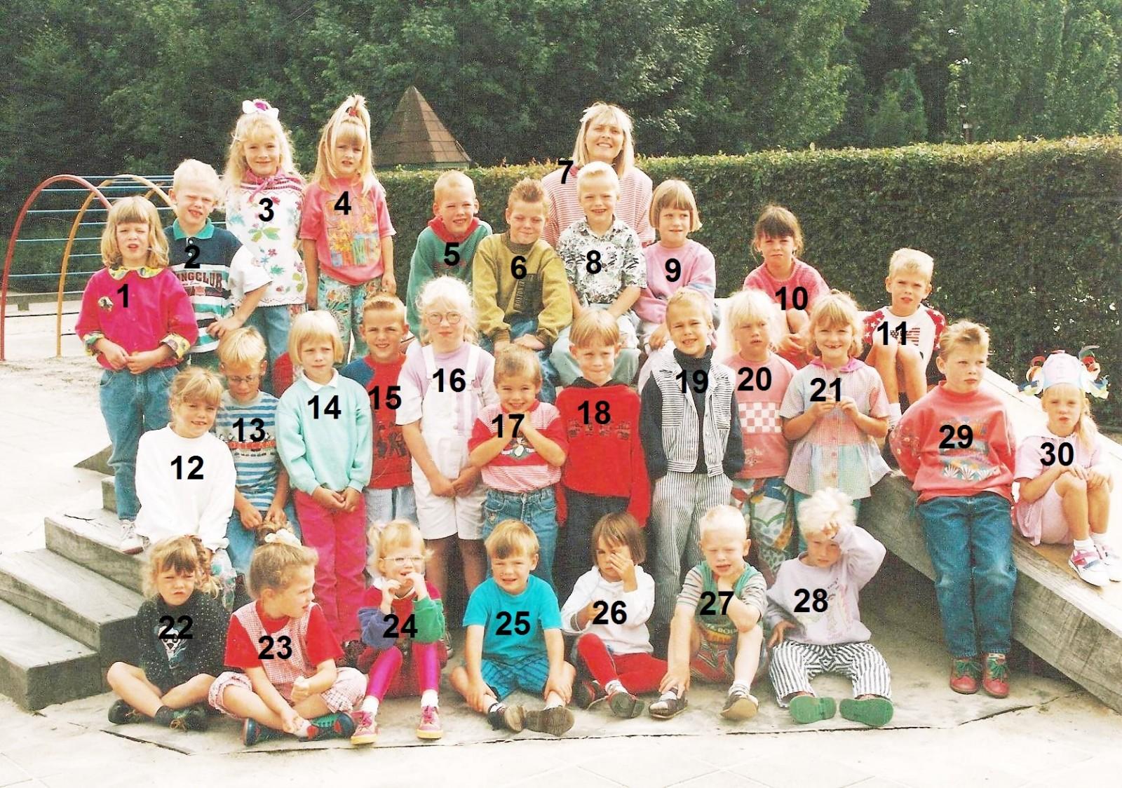 Klassenfoto Lattrop schooljaar 1992-1993