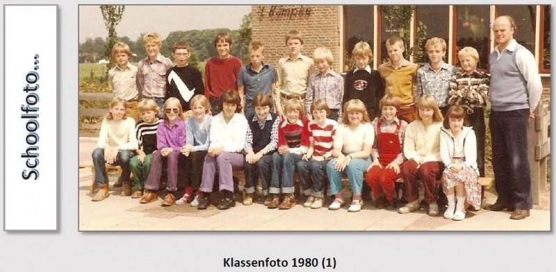 Klassenfoto 1980 Lattrop