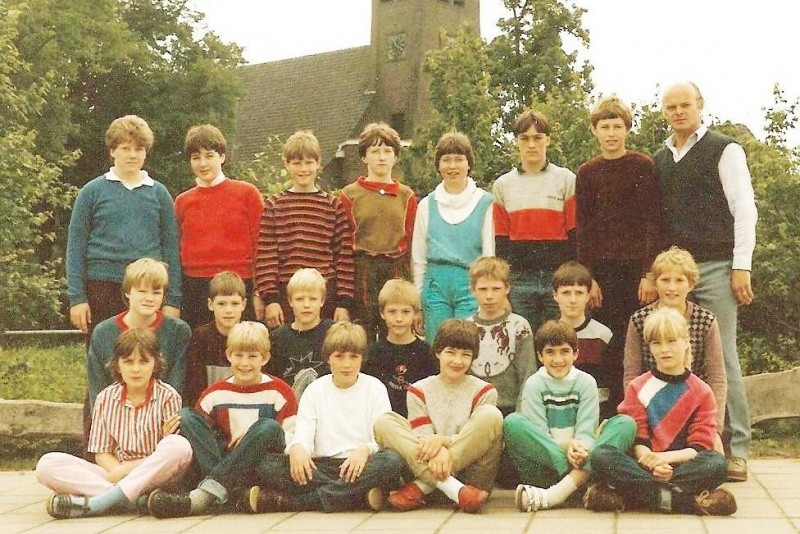 RK lagere school Lattrop 1984