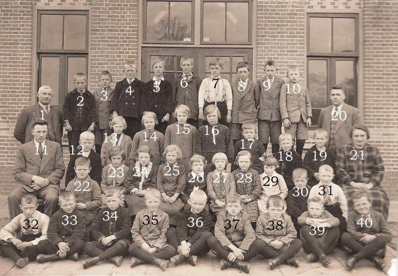 Klassenfoto RK Lagere school 1932