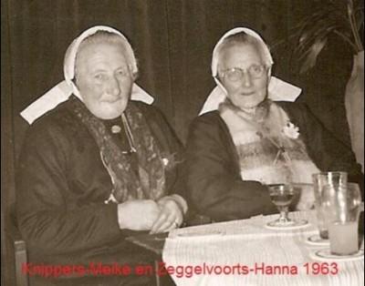 Knippers Meike Breklenkamp en Zeggelvoorts Hanna Lattrop