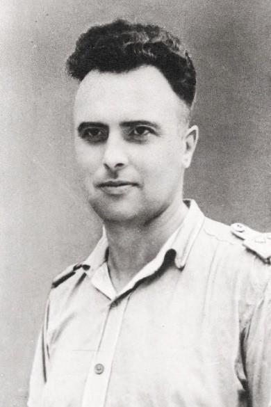 Koos Veldman ovl 10-07-1946 in Semarang-Java