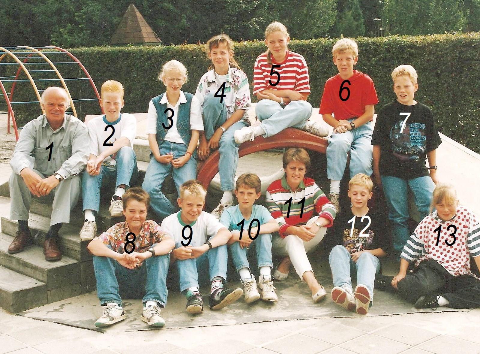 Lagere school Lattrop 1992-1993