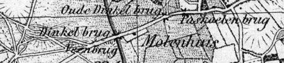 Landkaart 1860