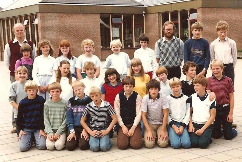 Lattrop schooljaar 1981-1982 klas 6