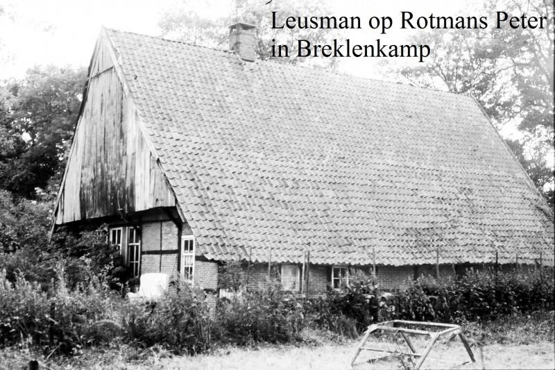 Leusman op Rotmans Peter Breklenkamp