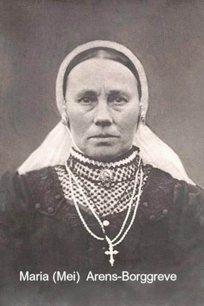 Maria (Mei)  Arens-Borggreve (Bergsmid) lattrop 1859-1938