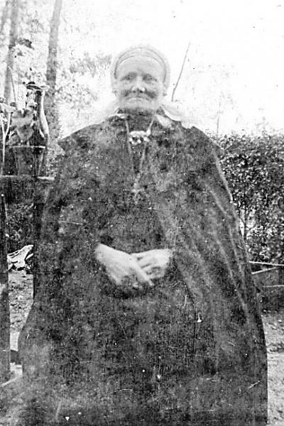 Maria Rerink-Niehuis 1853-1936 op Weghuis Klein Agelo (moeder de gans)