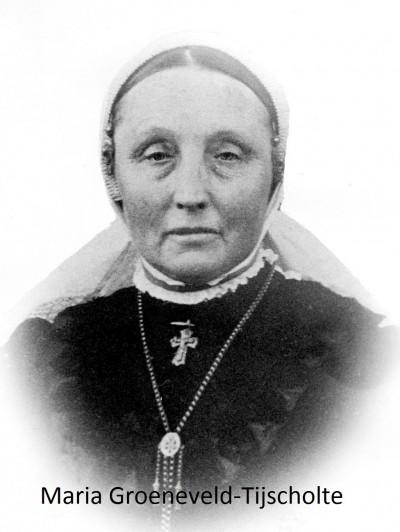 Maria  Tijscholte ev Johannes Hendrikus Groeneveld (de Meijer) lattrop 1862-1925