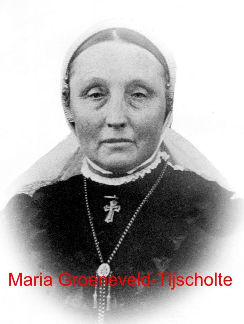 Maria Tijscholte 18621925 ev Johannes Hendrikus Groeneveld (de Meijer) Lattrop