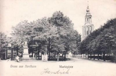 Marktplatz in Nordhorn
