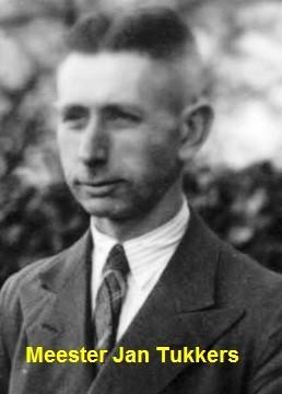 Meester Jan Tukkers foto 1941