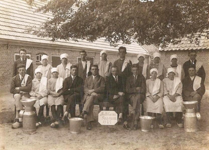 Melkcursus Rossum 1921