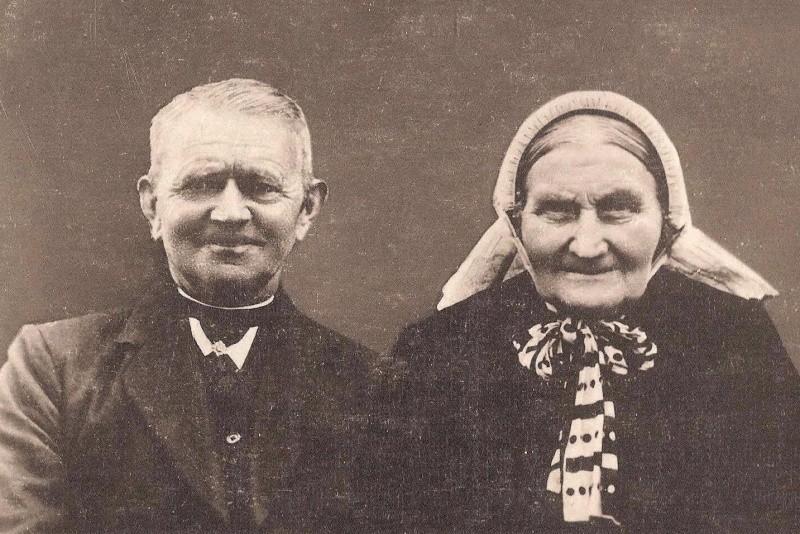 Johannes Morsink en Geertruida Johanna Veelers op Schutte in Tilligte…