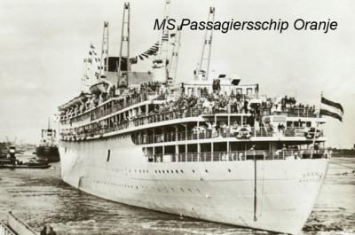 MS passagiersschip Oranje