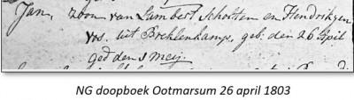 NG doopboek Ootmarsum Lambert Scholten 26 april 1803