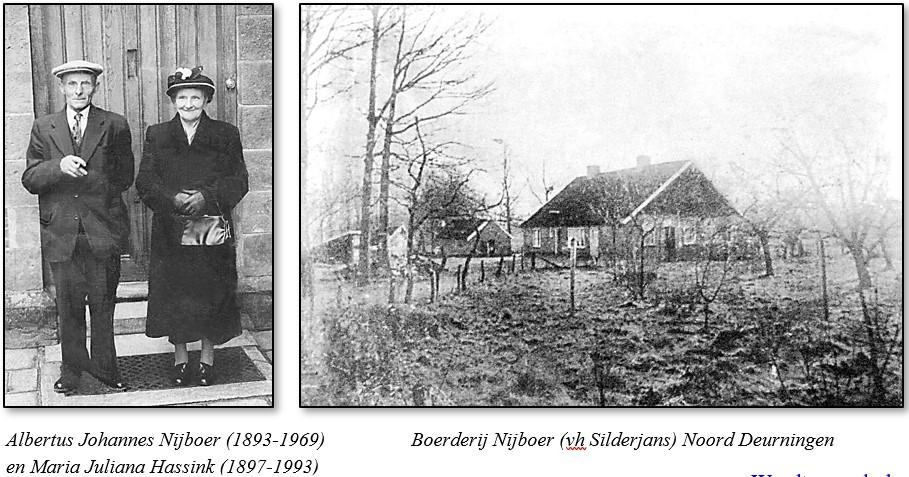 Nijboer op Silderjans in Noord Deurningen