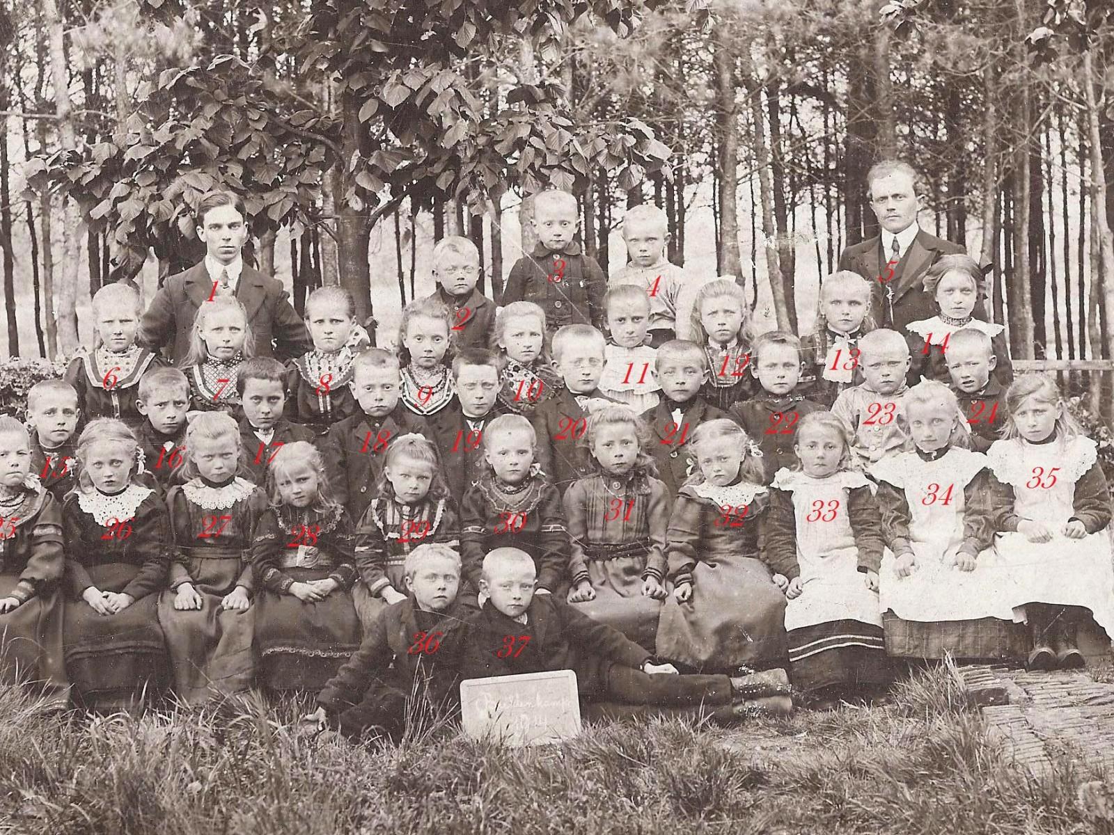 Openbare Lagere school Breklenkamp 1914