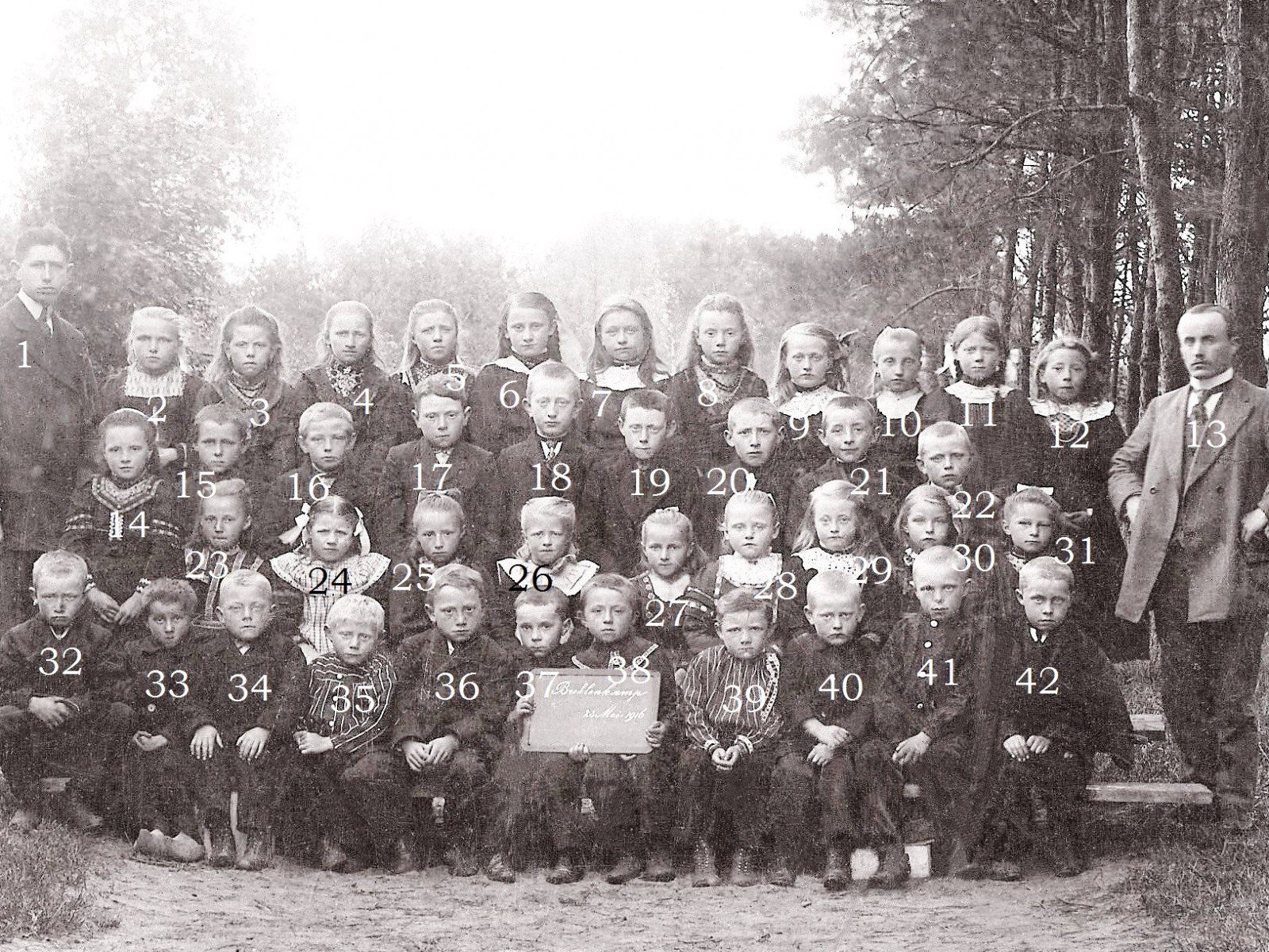 Openbare Lagere School Breklenkamp 23-05-1916