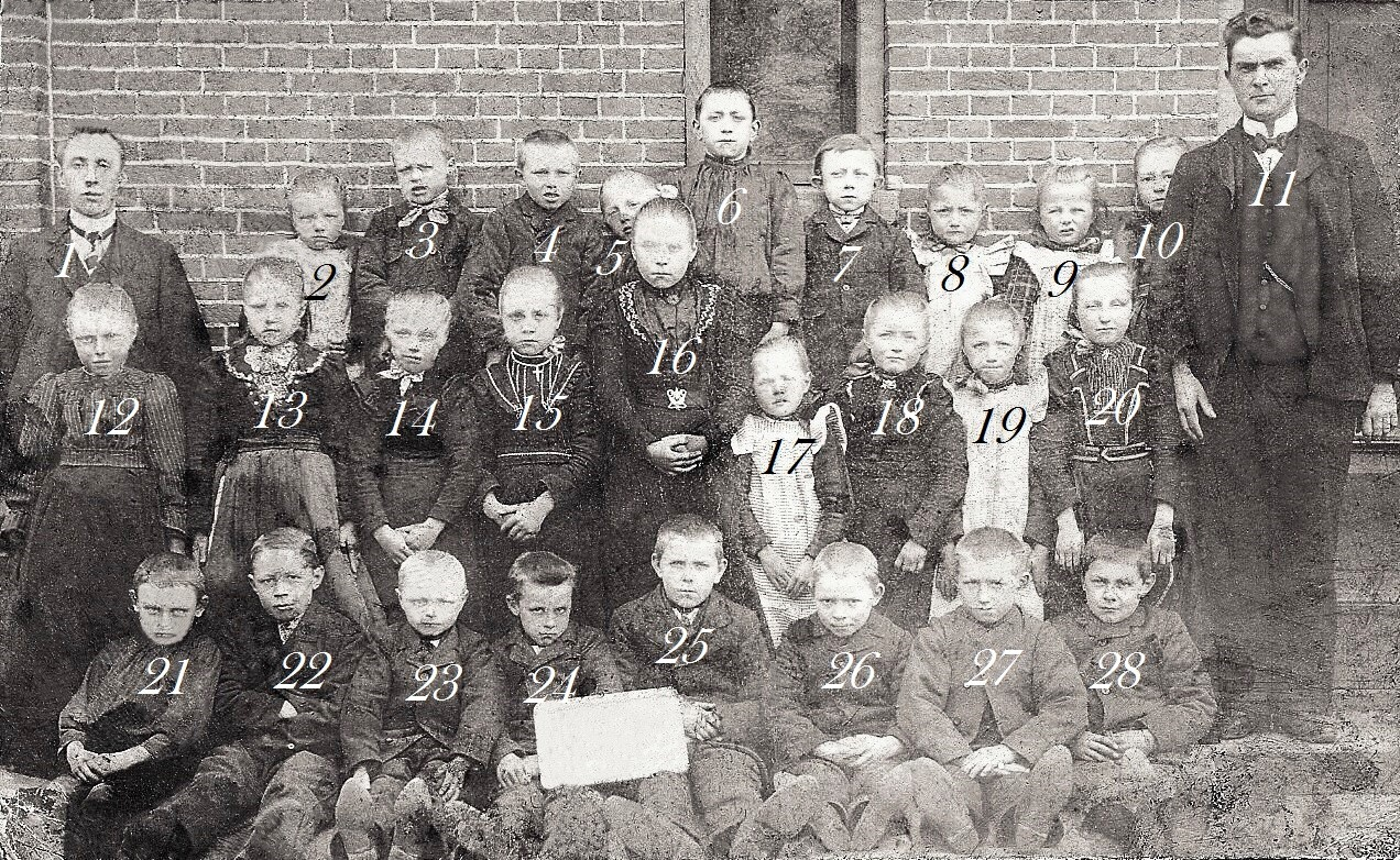 Openbare Lagere School Breklenkamp Jaar 1908