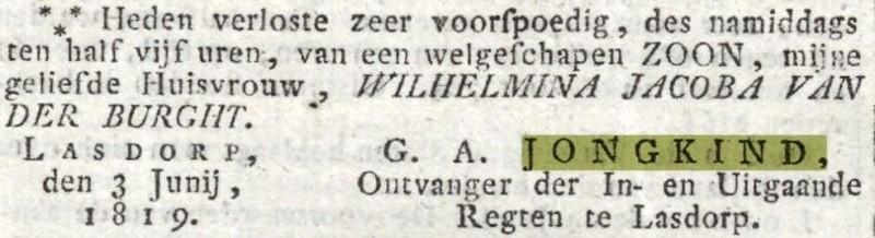 Oprechte Haarlemse Courant 03-06-1819