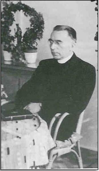 Pastoor Johannes Hendrikus Leferink in Lattrop